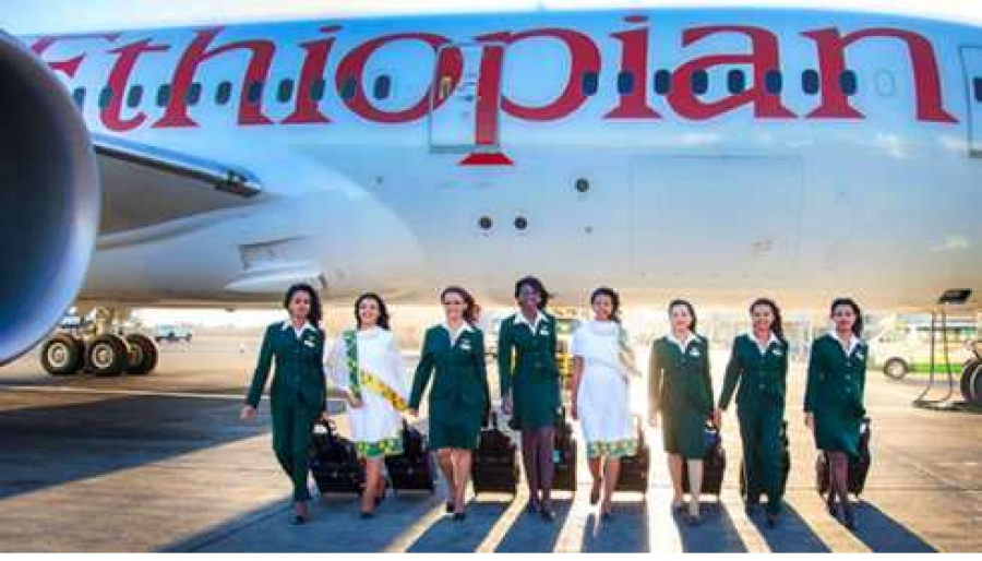 female flight crew