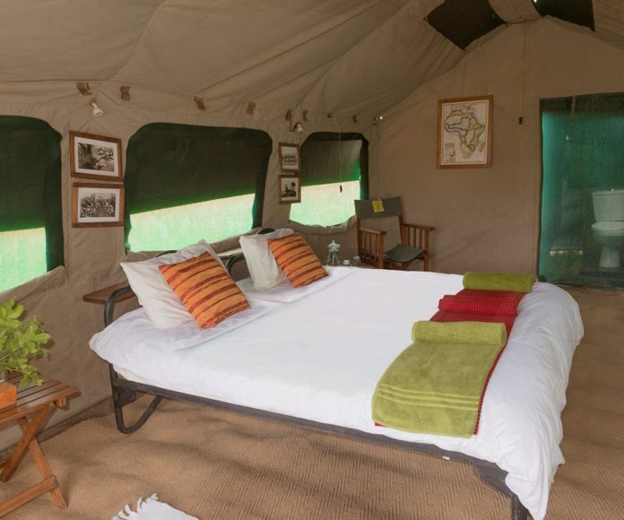 Kananga tented camp