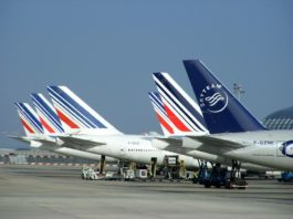 Air France Aircraft Tails