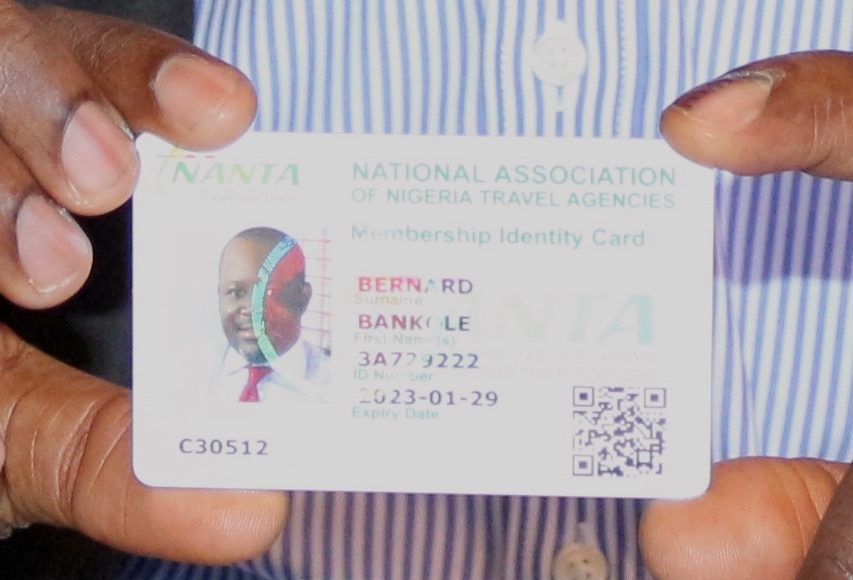 Nigerian Travel Practitioners Identification Card