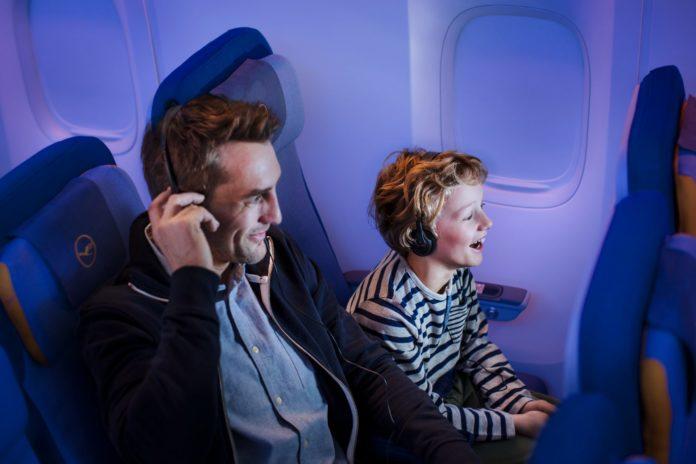 lufthansa upgrades in-flight entertainment programme