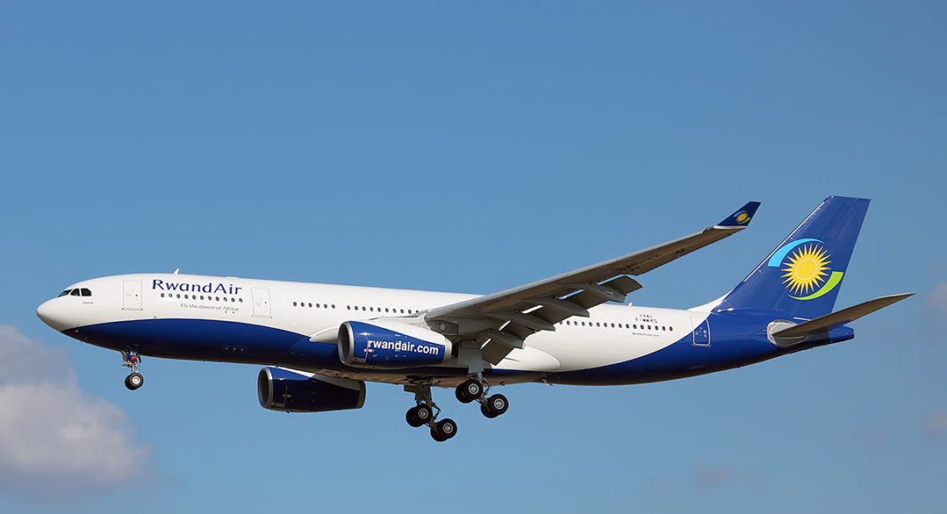 RwandAir USA flights