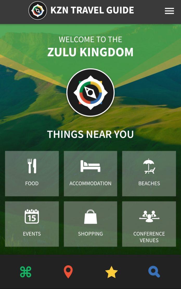 KZN travel app