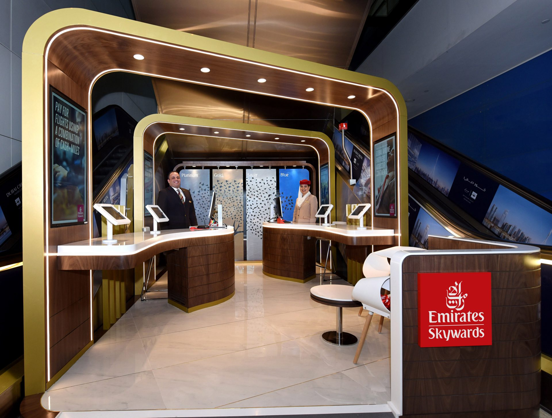 Emirates Skywards opens new one-stop centre at Dubai International