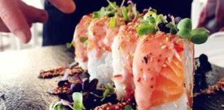 Cannabis sushi roll
