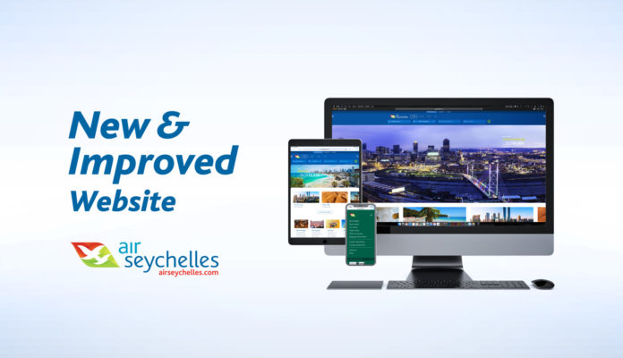 Air Seychelles new website
