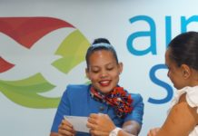 Air Seychelles check in