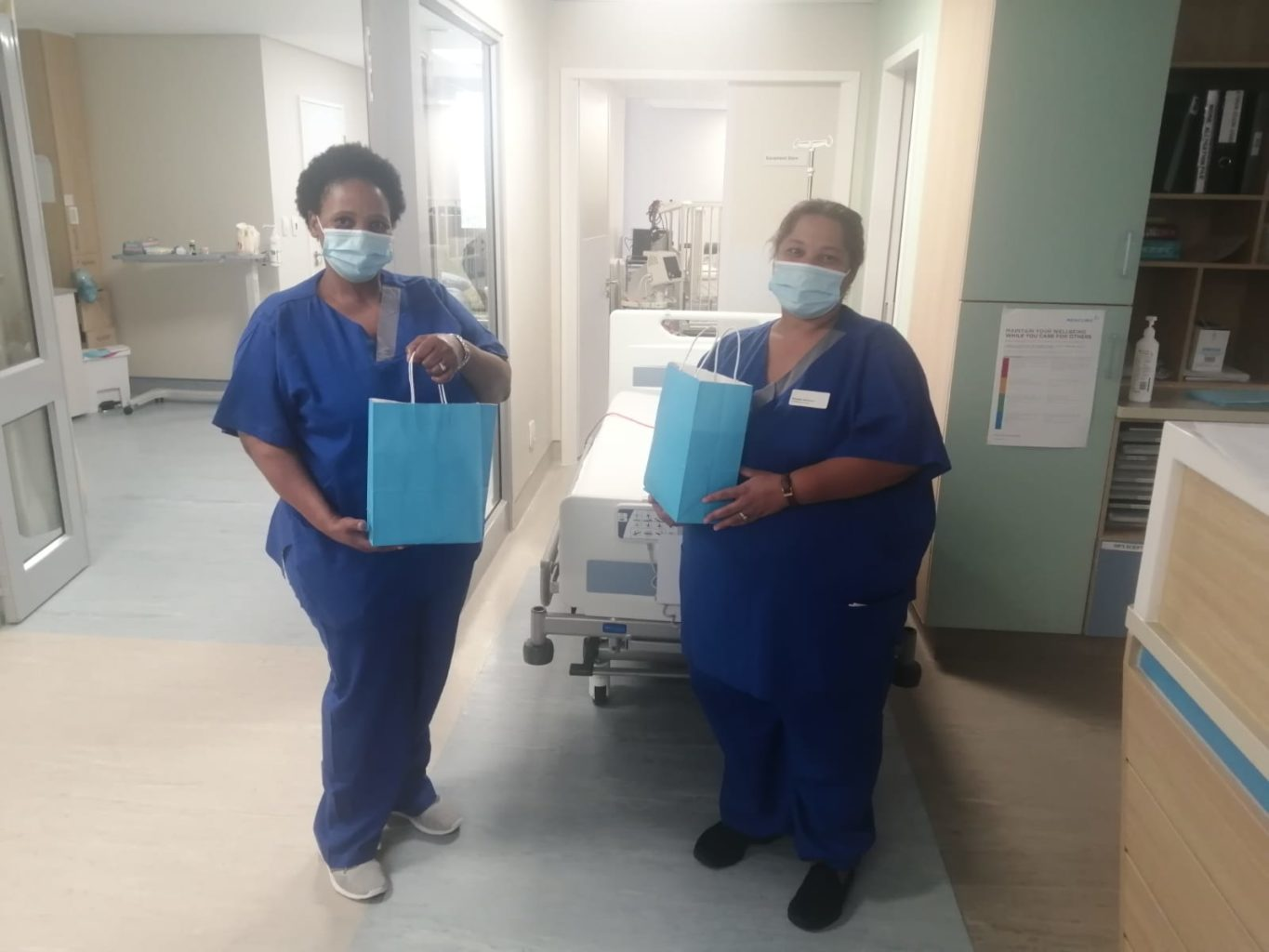 Stellenbosch unites to donate care packages for medical sector workers